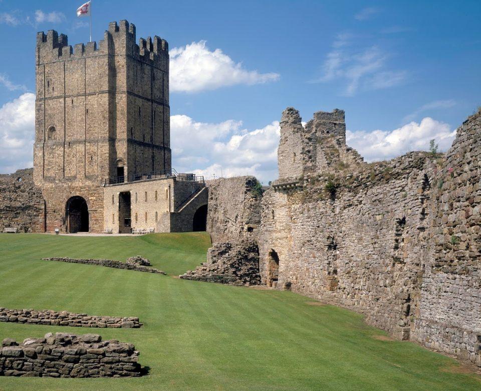 Richmond Castle inNorth