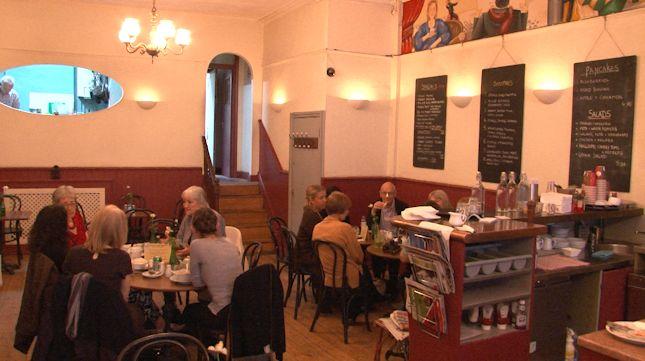 Inside London's Death Cafe
