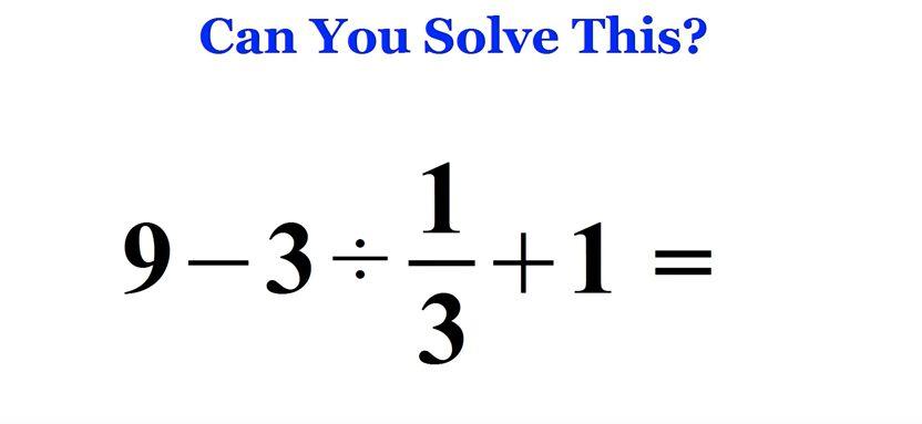 Viral Maths Problem Baffles Adults