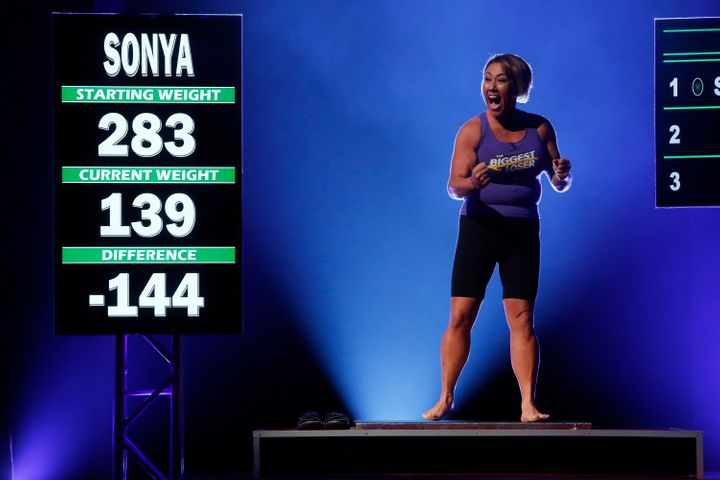 "Sonya Jones competes on season 16 of ""The Biggest Loser."""