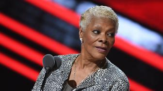 NEWARK, NEW JERSEY - APRIL 01:  Dionne Warwick speaks onstage at Black Girls Rock! 2016 at New Jersey Performing Arts Center on April 1, 2016 in Newark, New Jersey.  (Photo by Paras Griffin/WireImage)