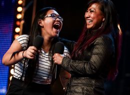 'BGT' Mother And Daughter Get The Audience On Their Feet