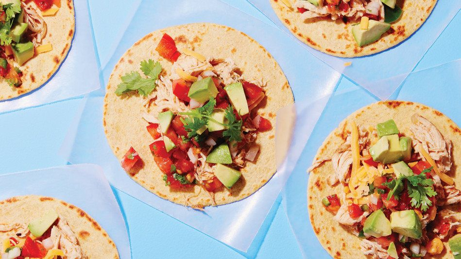 Lightening up carnitas -- the crispy pork filling you can pile into tortillas -- is no easy feat, since switching to a leaner