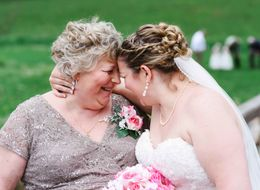How This Blind Mom Was Able To See Her Daughter Walk Down The Aisle
