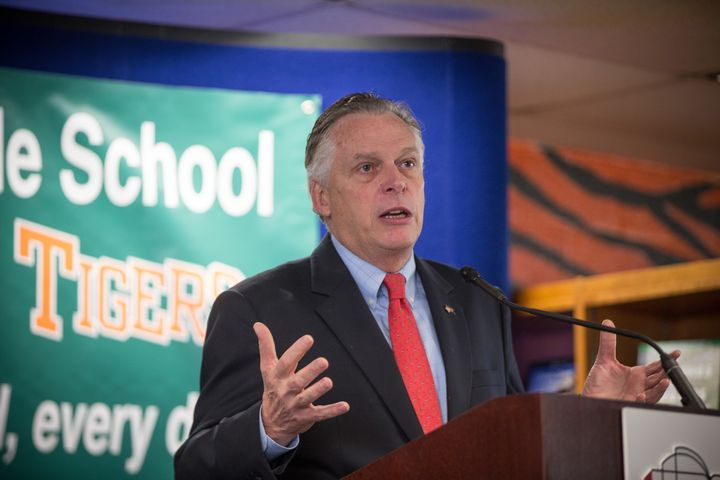 Governor Terry McAuliffe (D-Va.) outlined a proposal for greater investment in education last December.