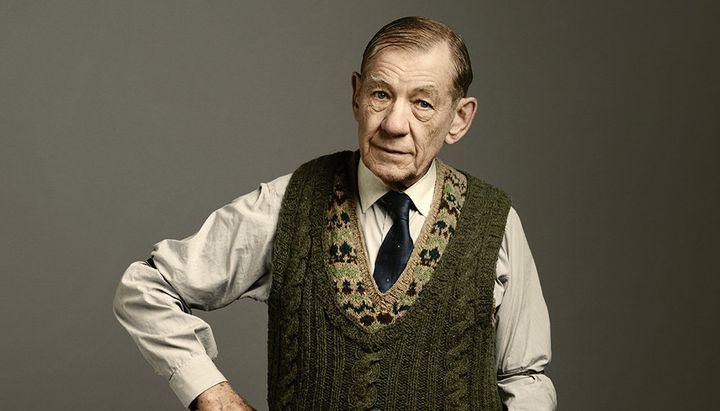 """Ian McKellen in """"The Dresser."""""""