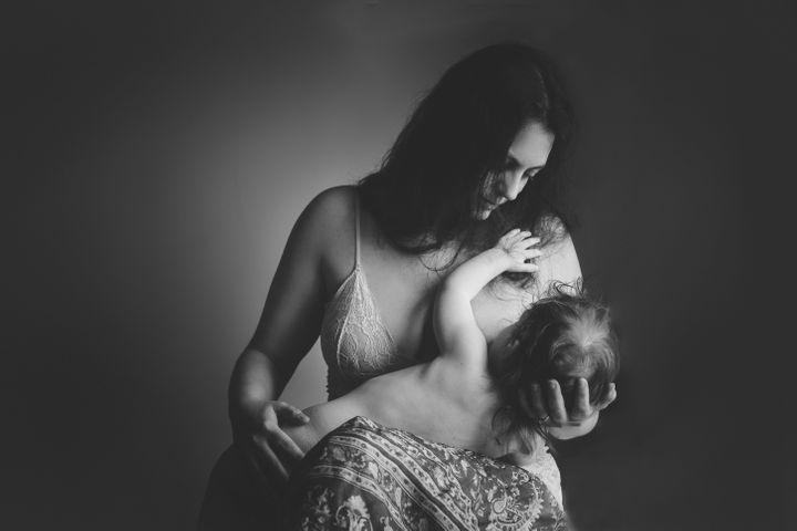 "Said the photographer, ""This self portrait encapsulates love and motherhood in all the little details I want to remember. But more importantly, it stands for strength and perseverance in the name of challenges."""