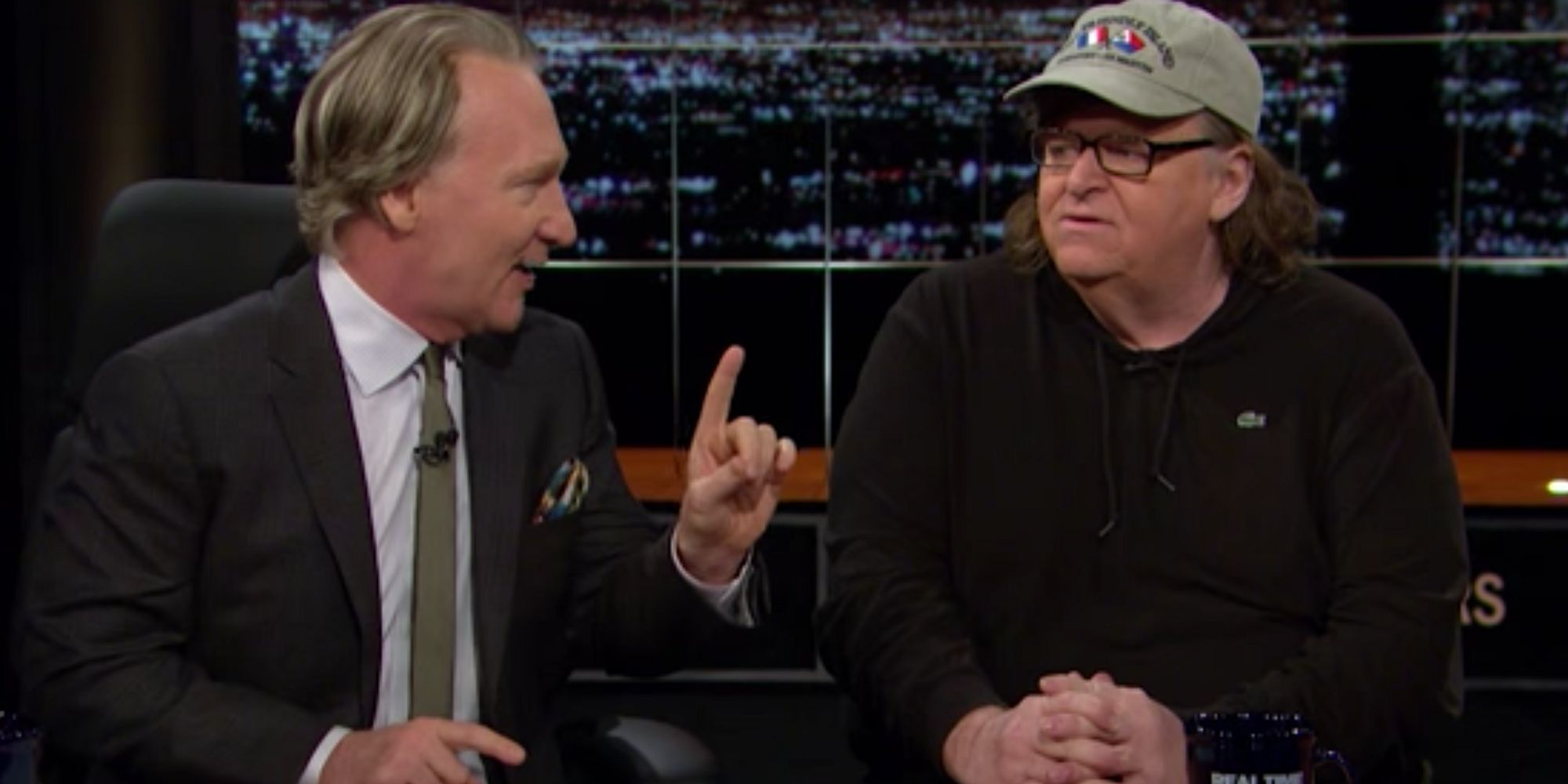 Bill Maher And Michael Moore Vow To Take Down Donald Trump
