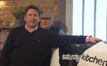 James Martin presented 'Saturday Kitchen' for a