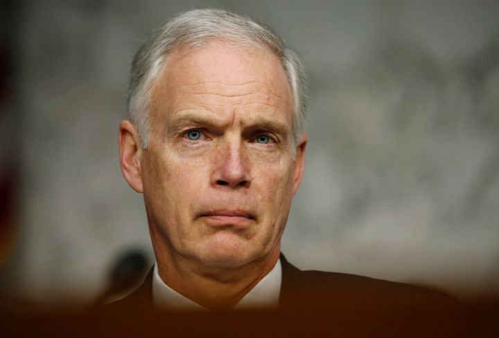 Wisconsin Sen. Ron Johnson compared the upcoming election to the 9/11 attacks.