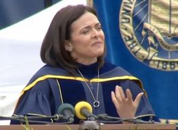 Sheryl Sandberg Speaks On Husband's Death In Commencement Speech