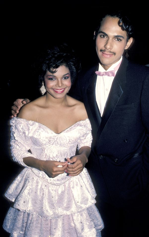 WithJames Debarge at 12th annual American Music Awards in Los Angeles.