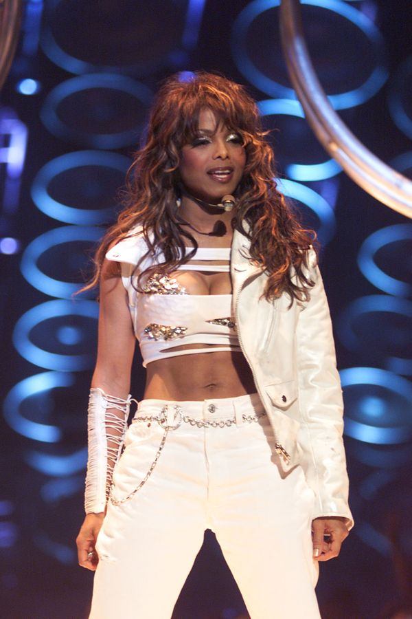 At the MTV Icon: Janet Jackson show taping in Los Angeles.
