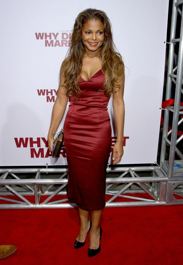 """At Tyler Perry's """"Why Did I Get Married"""" premiere in Hollywood."""