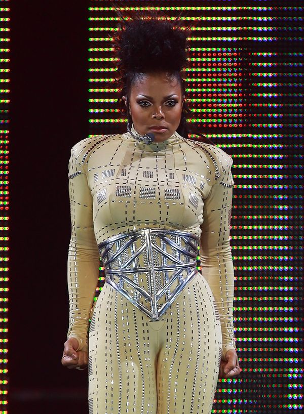 """Performingin the first show of her """"Rock Witchu"""" tour at General Motors Place in Vancouver, British Columbia, Canada."""