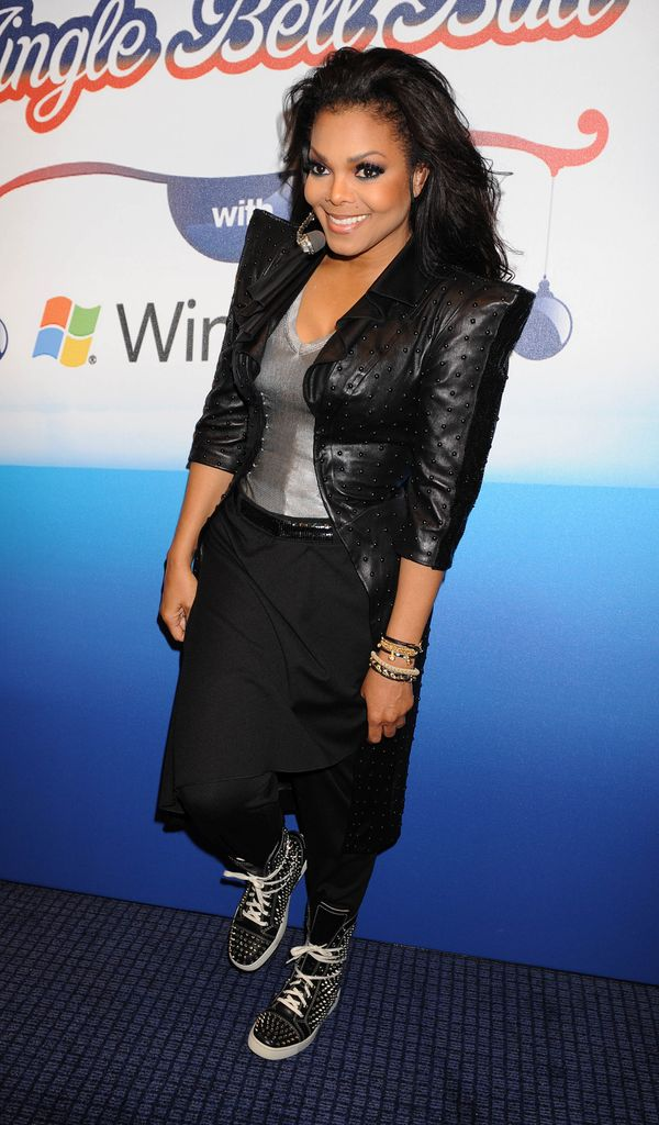 Janet Jackson S Style Evolution From Cute Child Star To