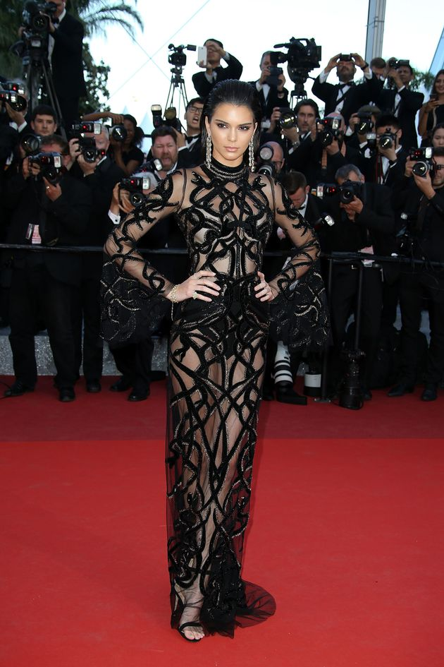 Cannes 2016: Kendall Jenner Rocks The Nearly-Naked Dress