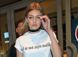 Gigi Hadid Wears Love For Zayn Malik On Her T-Shirt