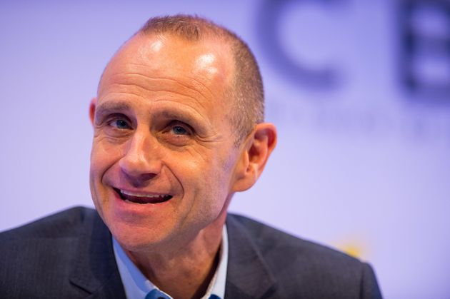 Evan Davis fended off competition fromPaul O'Grady, Gok Wan, Nick Grimshaw and Clare