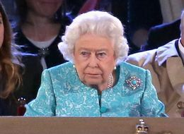 The Queen Looked Like She Was Having A Whale Of A Time At Her Birthday Party