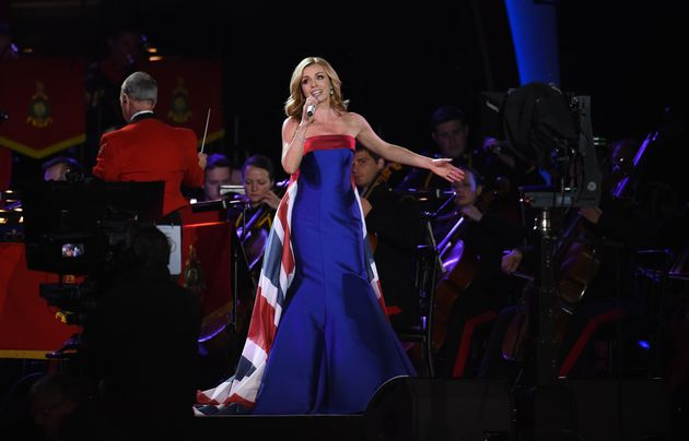 Katherine Jenkins performs I Vow To Thee My