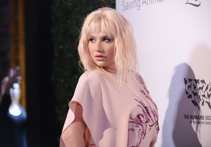 Kesha attends The Humane Society of The United States' To The Rescue gala at Paramount Studios on May 07, 2016 in Hollywood,