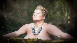 Plus Size Model Stars In Brave Nude Photoshoot After 20-Year Cancer