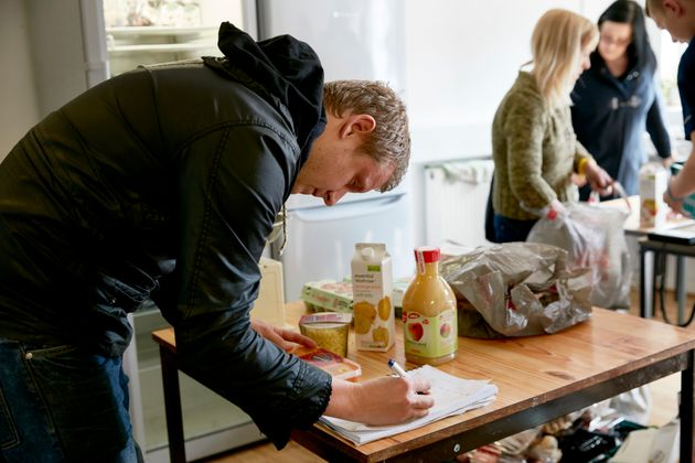 Ocado's leftoverfood will go to cafes all around the