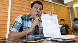 Philippines' President-Elect Duterte Vows To Renew Death