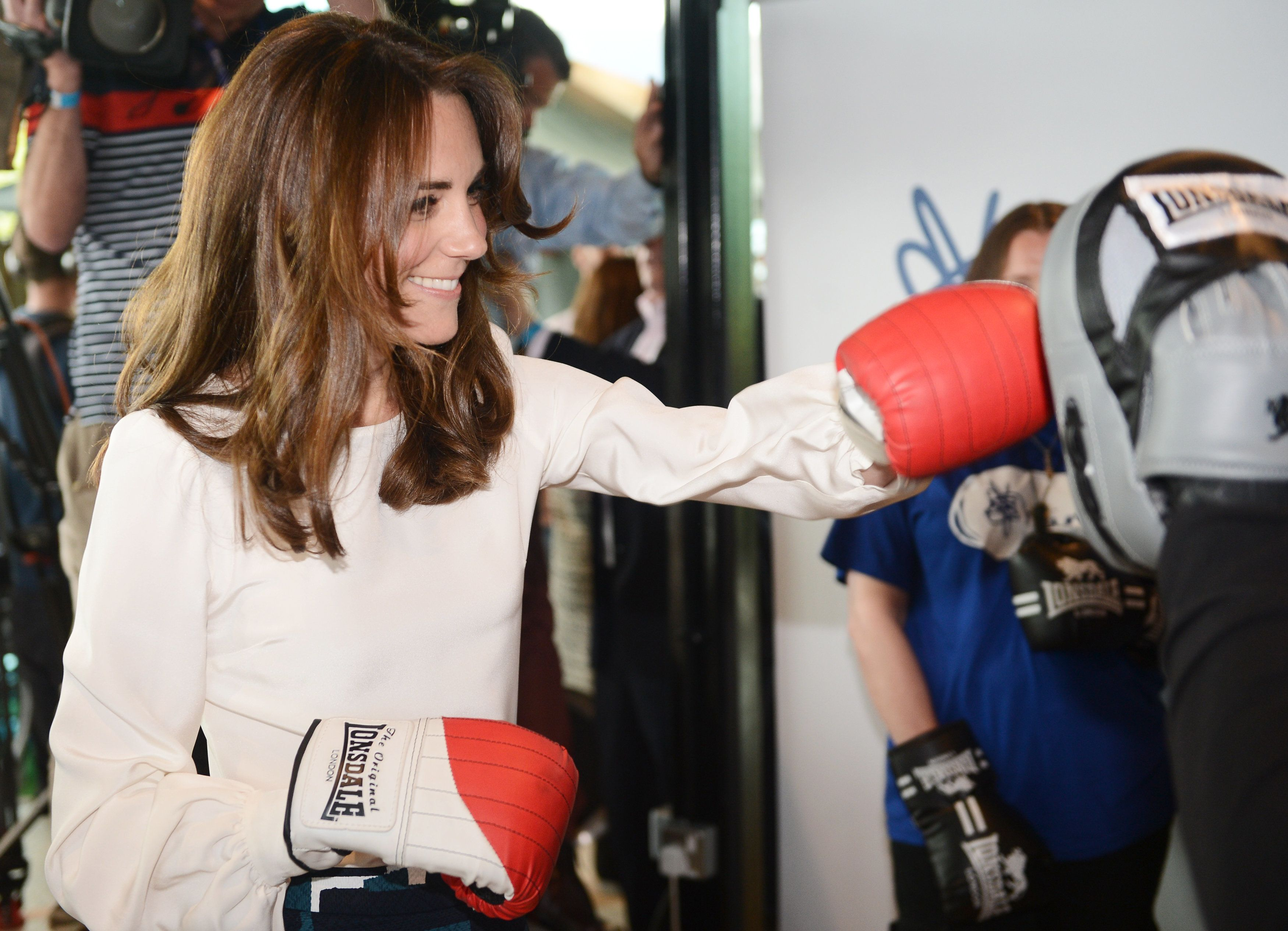 'Heads Together': Duchess Of Cambridge Packs A Punch To End Mental Health