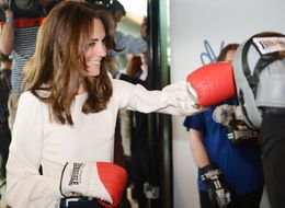 The Duchess Of Cambridge Dons Boxing Gloves For A Very Important Cause
