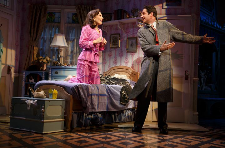 "Benanti and co-star Zachary Levi nabbed Tony Award nominations for ""She Loves Me,"" now playing on Broadway."