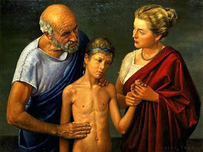 <strong>Hippocrates Examining Child</strong>