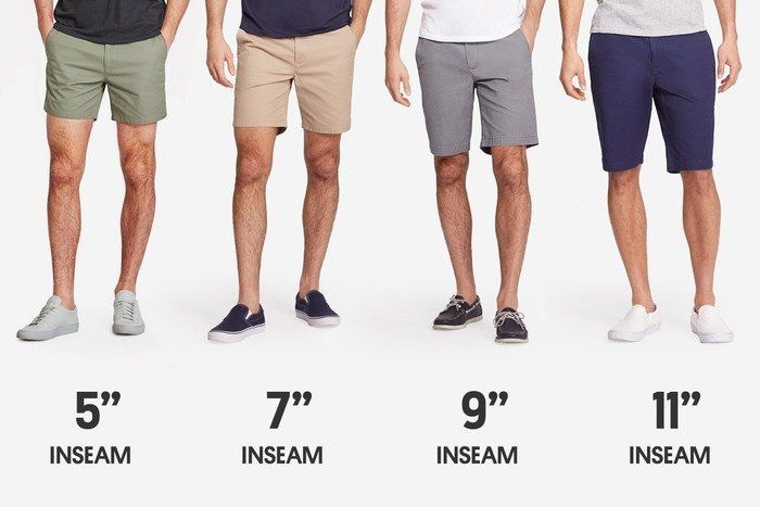 "<a href=""https://bonobos.com/shop/pants/shorts/washed-chino-shorts"" target=""_blank"">Bonobos' line of washed chino shorts</a>&nbsp;($68)&nbsp;range from the mid-thigh&nbsp;5-inch seam to the knee-level 11-inch seam."