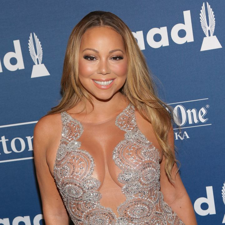 Mariah Carey attends the 27th Annual GLAAD Media Awards held at The Waldorf Astoria on May 14, 2016 in New York City.