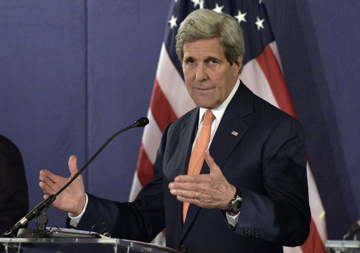 """U.S. Secretary of State John Kerry said Seraj's request for supportmade sense, but would need to be """"carefully sculpted"""