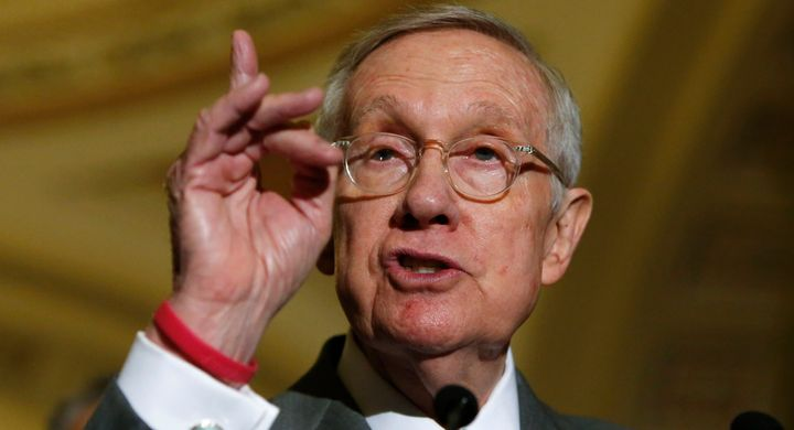 Senate Minority Leader Harry Reid (D-Nev.) is backing Rep. Patrick Murphy (D-Fla.) for Florida's U.S. Senate seat.