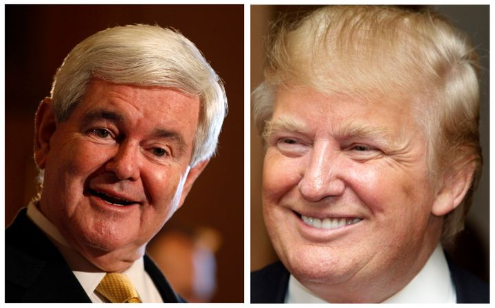 Newt Gingrich has some time, desire to be Trump's #2.