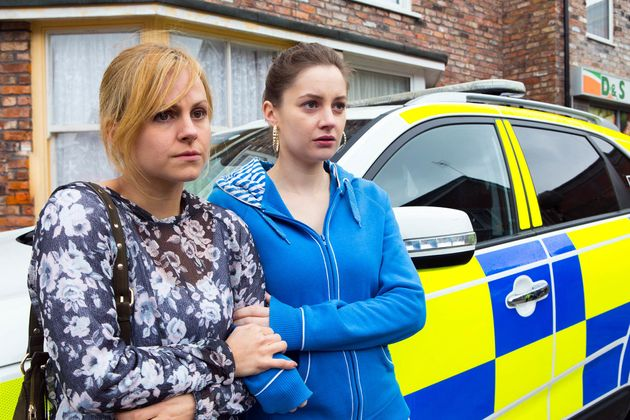 Sarah and Kylie realise that a gruesome discovery is about to be