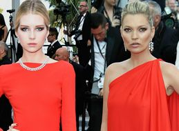 Kate Moss And Sister Lottie Had A Red Carpet Moment At Cannes