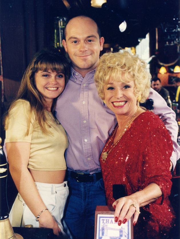 Danniella did not share any scenes with Ross Kemp and Barbara