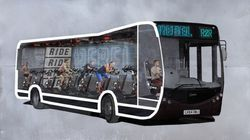You Can Now Do A Spin Class On The Bus To