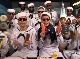 The Lonely Island Play 'I'm On A Boat' On Children's Instruments With Jimmy Fallon