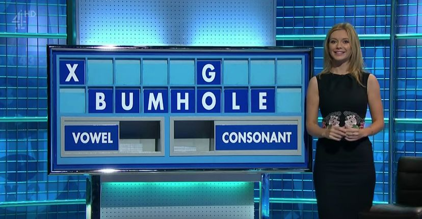 'Countdown' Gives Us A Rare Double-Whammy Of Rude