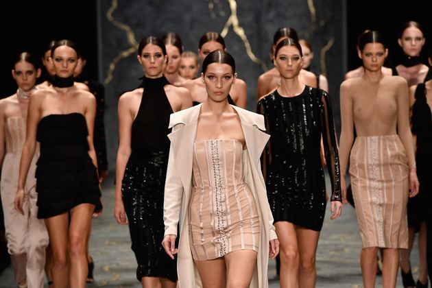 Australian Fashion Show Closes with All-White Runway