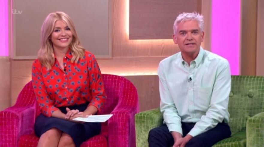 Holly Willoughby revealed an embarrassing story about 'This Morning' co-host Phillip