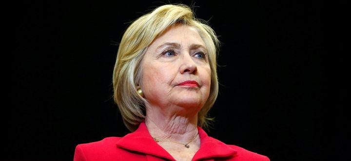 Democratic presidential hopefulHillary Clinton speaks at Transylvania University in Lexington, Kentucky, onMay 16