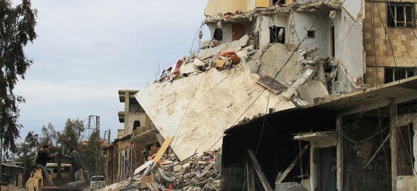 Syrian Rebels Fear Government Assault On Besieged, Starving Daraya