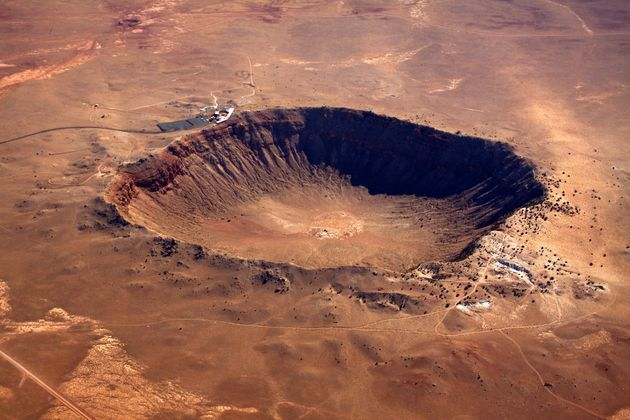 Earth Was Struck By A 19-Mile Wide Asteroid That Would Have Caused 'Cliffs To