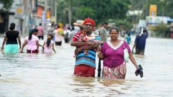 Photos Highlight Resilience Of Sri Lankans Hit By Torrential